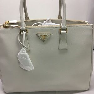 New with tags Prada Double Zip Saffiano Tote